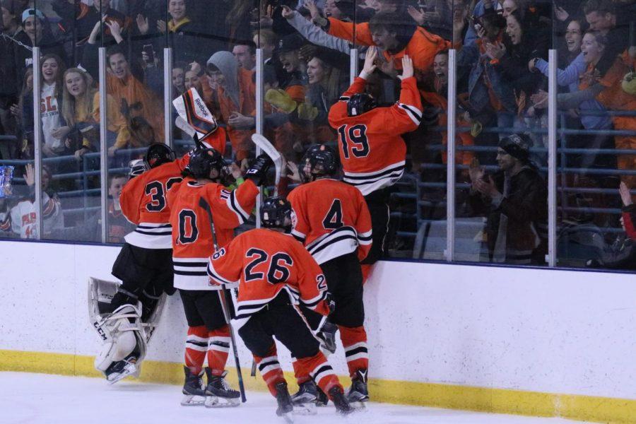 Boys' hockey beats rival Benilde