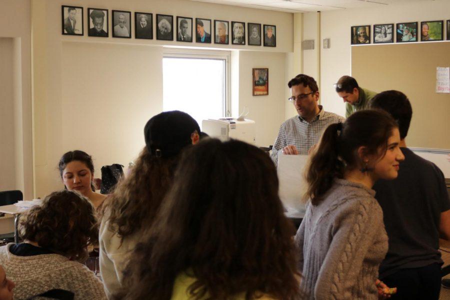 JSU discusses and celebrates Purim