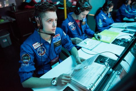 Lewis Brown gains leadership skills at space camp