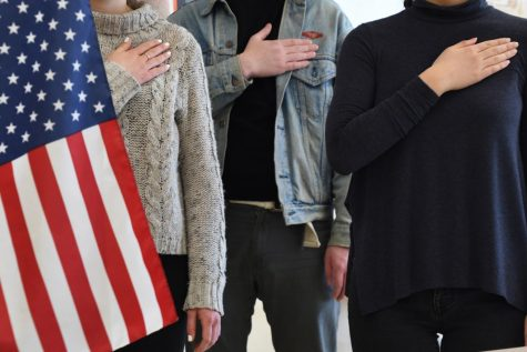 Administration to enforce Pledge of Allegiance
