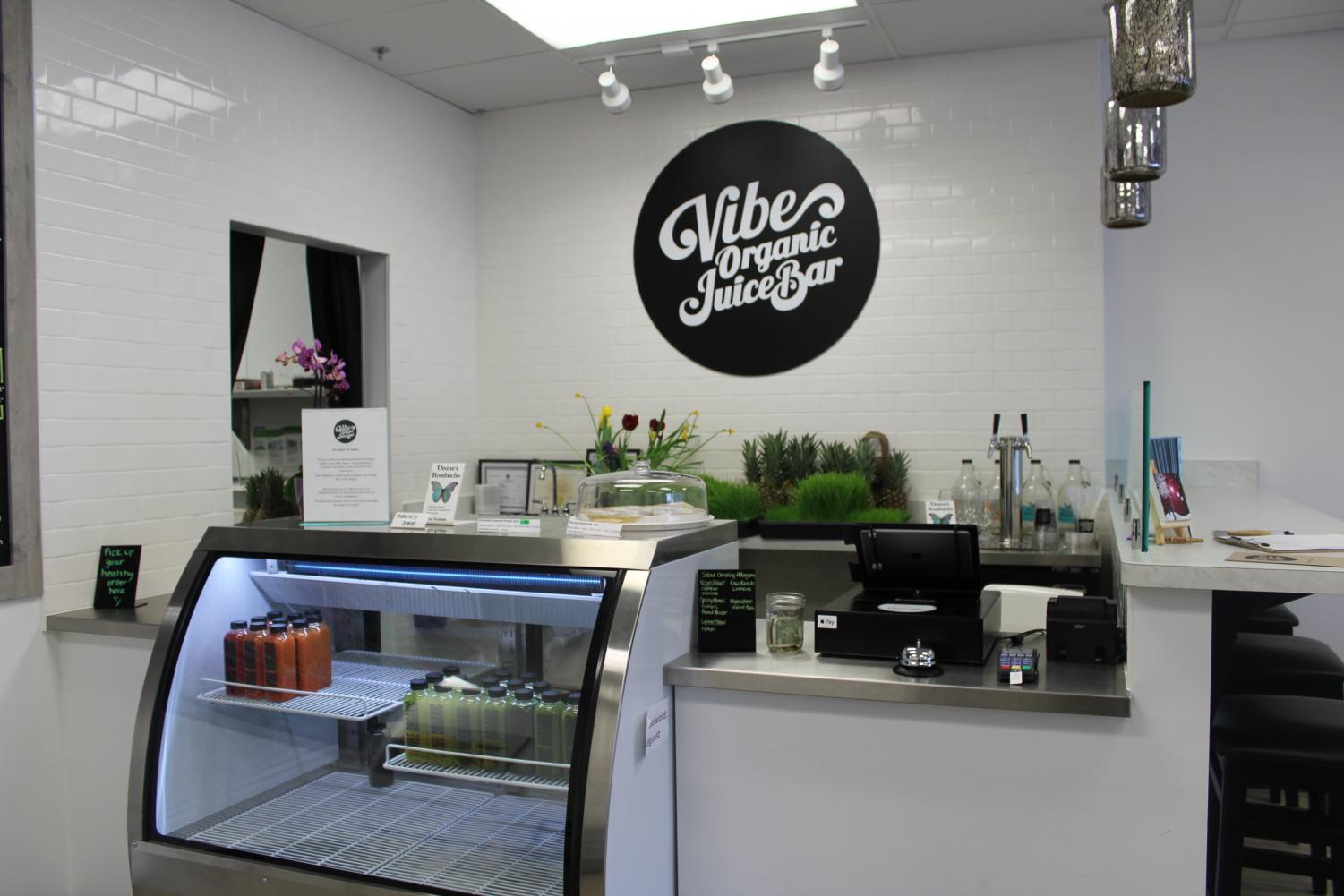 Vibe Organic Juice Bar opened March 17 on excelsior boulevard. They serve a variety of juices, smoothies and snacks.