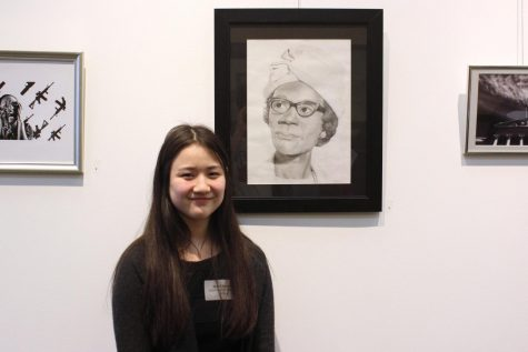 Sophomore places at Congressional Art Contest