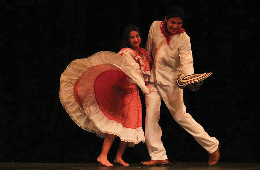 Echo archive photo from the last years; Multicultural show.