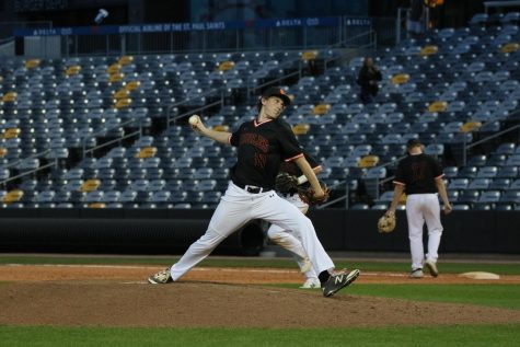 Baseball game at CHS Field ends in disappointment