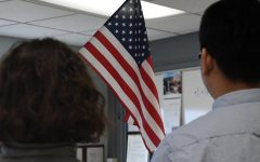 School now enforcing Pledge of Allegiance law