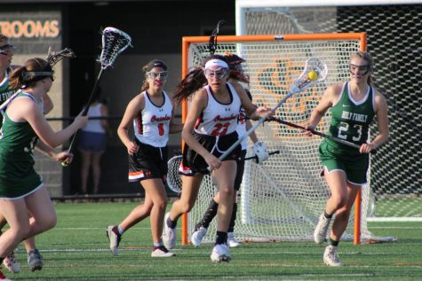 Girls' lacrosse defeated by Holy Family Catholic