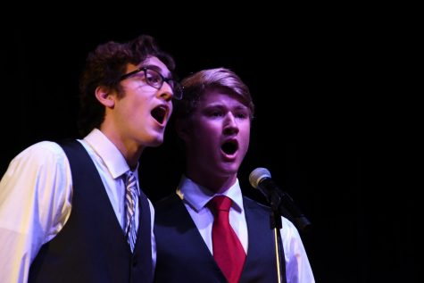Choir ends on high note
