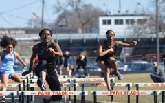 Girls' track breaks school record by two seconds