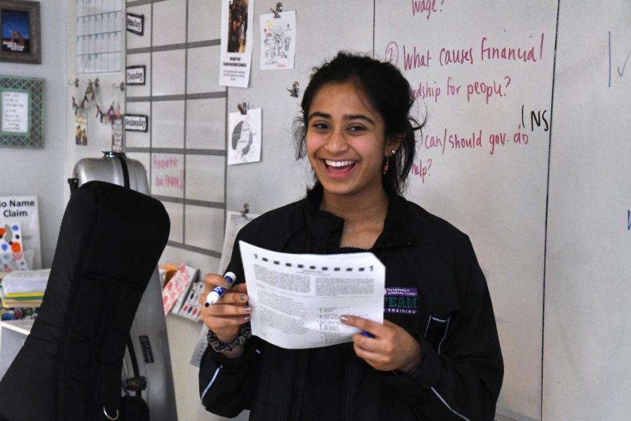 Senior finds passion in mentoring