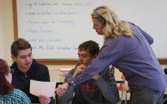 Math teacher returns to full-time teaching