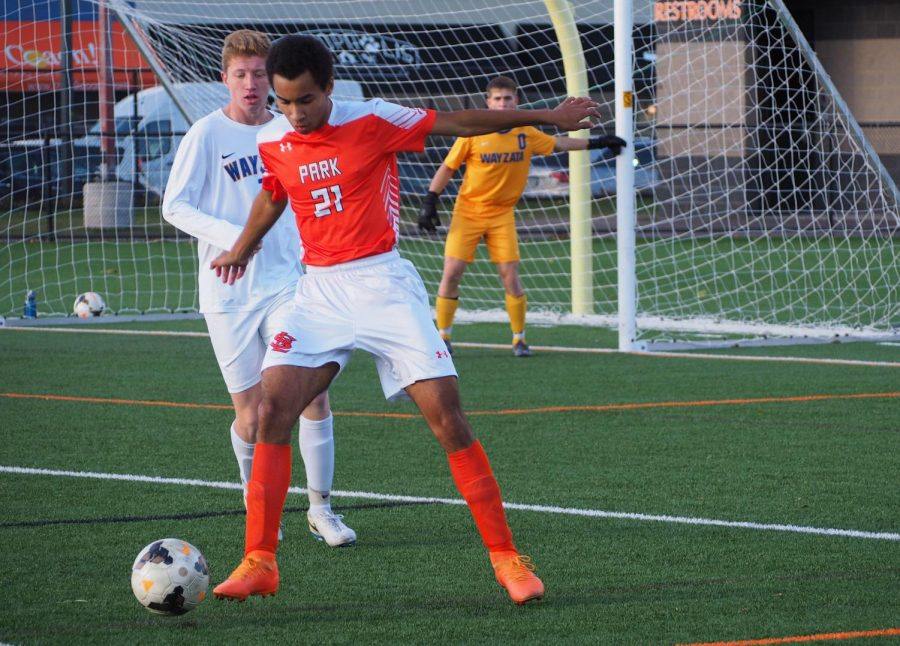 Photo Gallery: Boys' soccer loses to Wayzata