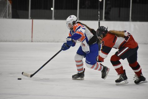 Girls' hockey beats Orono in first season game