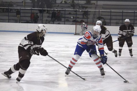 Girls' hockey experiences first loss
