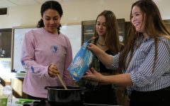 Senior starts vegan culinary club