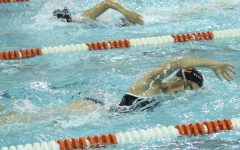 Girls' swimming concludes season at State
