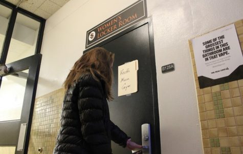 Staff Editorial: Locker room policy requires clarification, exceptions