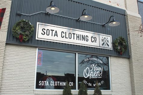 Sota clothing starts store locally
