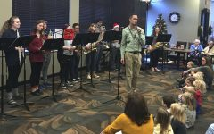 Smaller band ensemble performs in intimate settings