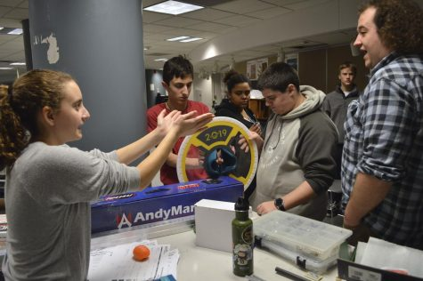 Robotics attends season kickoff event