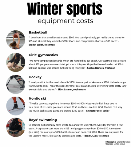 The costs of winter sports