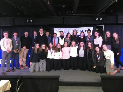 DECA competes at District