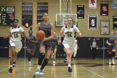 Girls' basketball overcomes Kennedy in first Section game