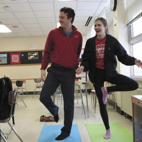 Math, yoga add up to stress-free equation
