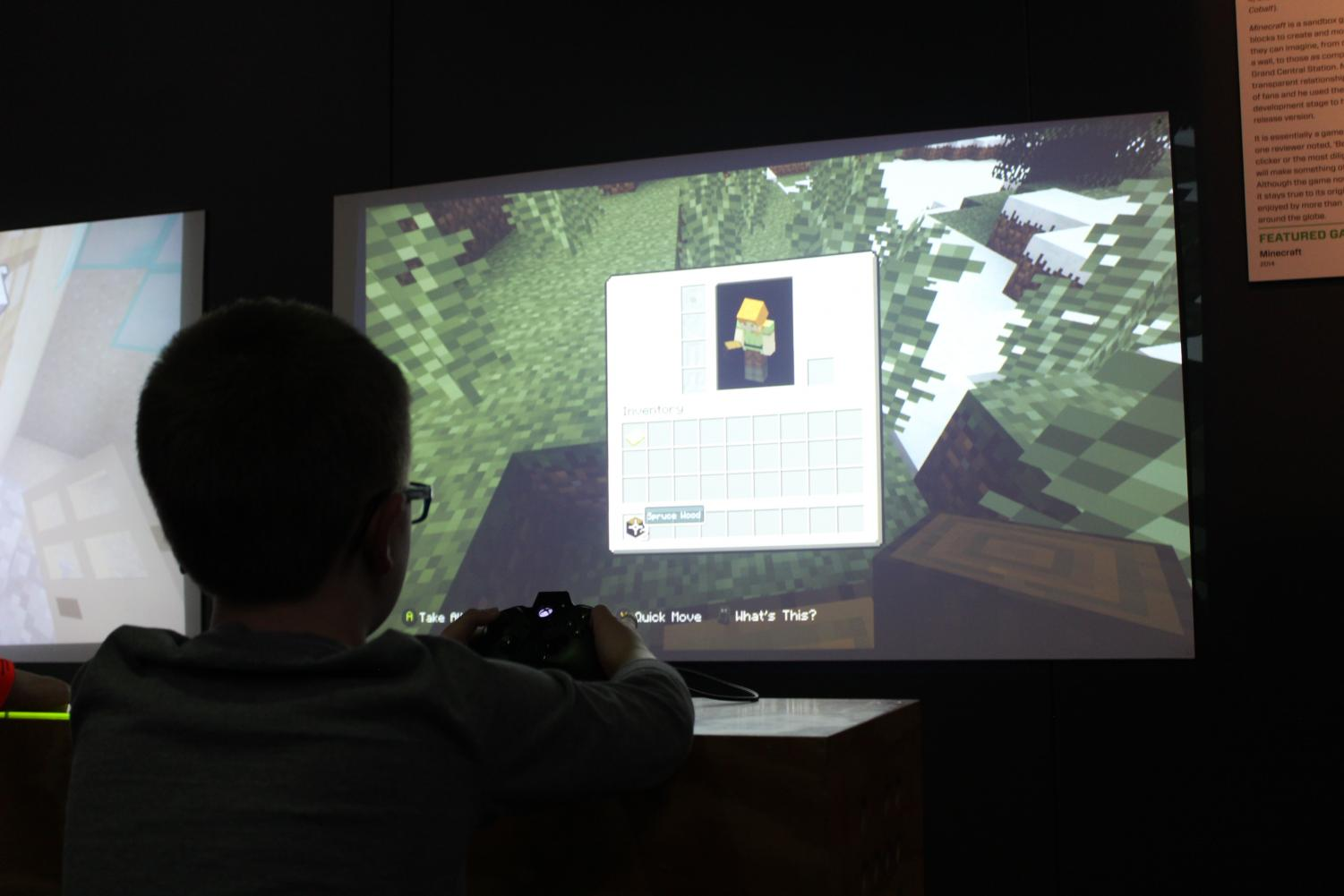 """Children and parents have been able to play 90s video games at the """"Game Changers"""" exhibit. The exhibit is open from Feb. 15 to May 5 at the Science Museum."""
