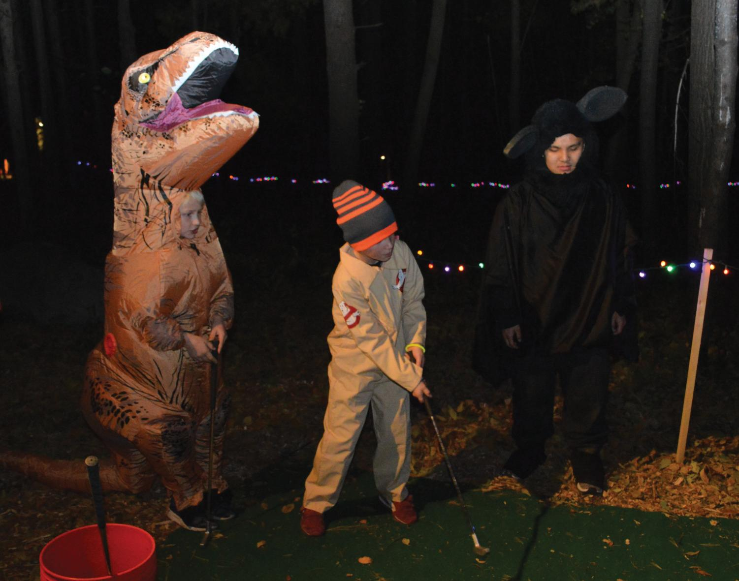 Senior Bryan Huynh volunteers with the National Honor Society Oct. 19 at the Westwood Hills Nature Center's Halloween party. The St. Louis Park City Council considers using bonds to fund the Nature Center renovations.