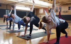 Yoga club gains popularity