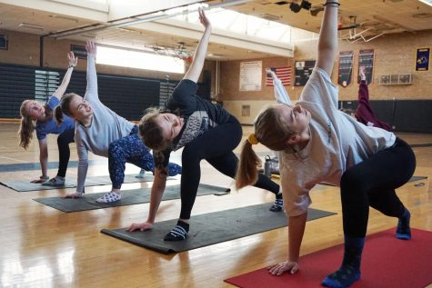 Yoga club gains popularity