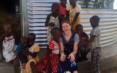 Senior travels to Uganda