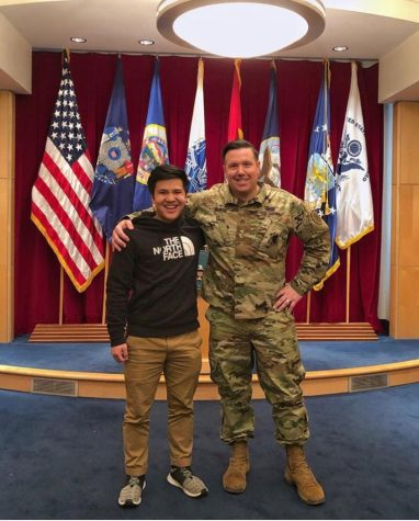 Senior to serve in National Guard