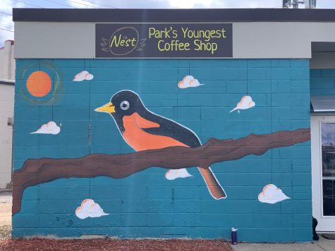 "According to the Nest youth coordinator Ellen Pajor, the coffee shop is an easy and accessible spot for students. ""We are open after school and on weekends.  That's why we're open after school, just to be a space where students can come and that's accessible and near the high school,"