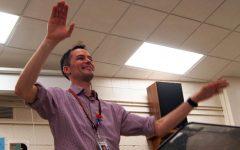 Band teacher named finalist for teacher of the year award