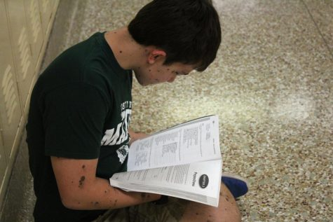 Sophomore takes seven advanced placement tests