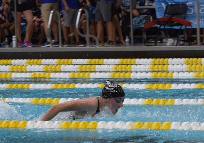 Girls' swimming sprinter commits