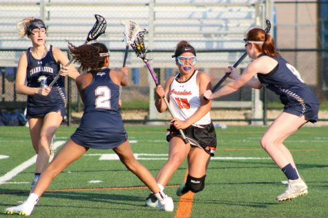 Girls' lacrosse loses to No. 3 ranked team in state