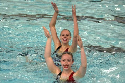 Synchro places first at Sections competition