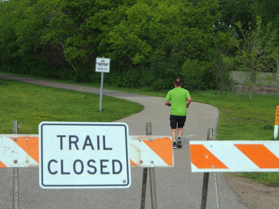 Closed trails prove inconvenient