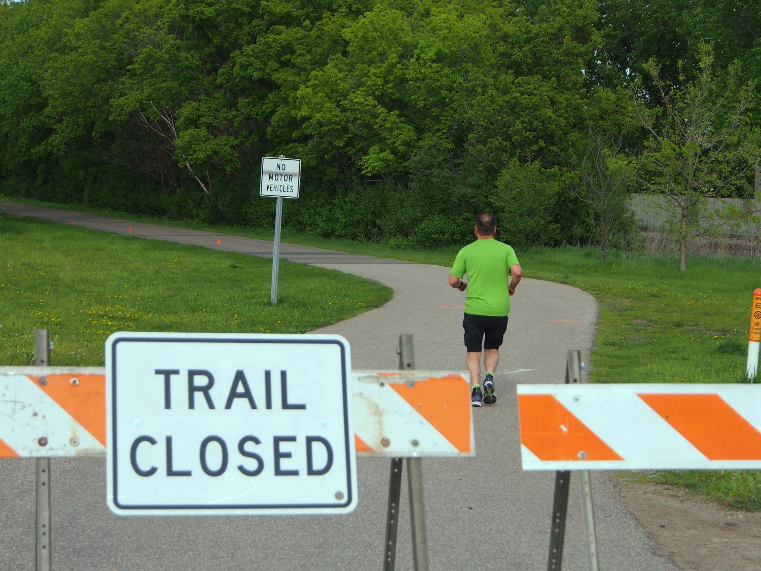 Cedar Lake Trail will be closed from Excelsior Boulevard to France Avenue until 2021 for the Southwest Lightrail Transit construction, according to Twin Cities Pioneer Press. Other trails, including parts of the Kenilworth Trail and the Midtown Greenway, will also be closed.