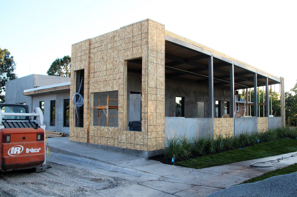 Craft and Crew Hospitality's latest restaurant, The Block, will feature a dog-friendly patio and dog menu. Construction on the restaurant began in May 2019 and is expected to be completed in the fall of 2019.