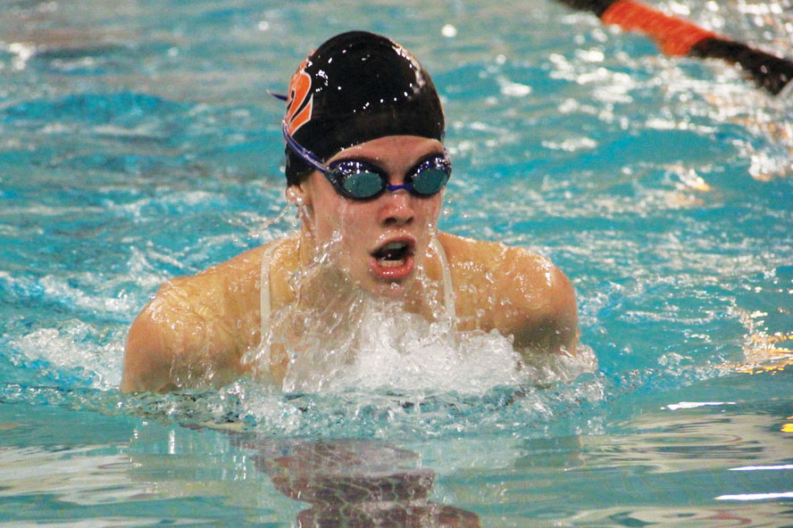 Senior+Hattie+Kugler+competes+in+the+breaststroke+with+a+time+of+1.09+minutes+Oct.+3.+Park+lost+to+Chanhassen+High+School+35-37.