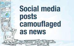 Social media posts  camouflaged as news
