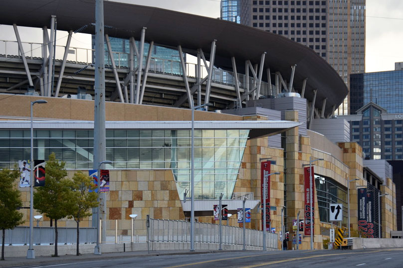 A view of Target Field, home of the Minnesota Twins. According to ESPN, the Minnesota Twins lost the American League Divisional Series to the New York Yankees.