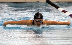 Girls' swim break new records at first Sections
