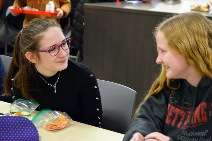 Freshmen Ruby Livon and Christina Loschy discuss their opinions on GSA being cancelled Nov. 22. They talk about their opinions on the importance of GSA.