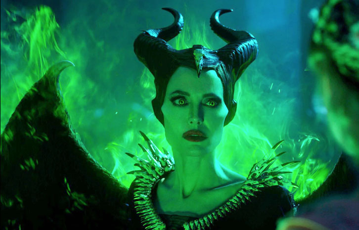 Fair+use+from+Disney.+Maleficent+uses+her+powers+to+threaten+Queen+Ingris+in+Maleficent%3A+Mistress+of+Evil.+The+sequel+to+the+live-action+remake+of+Sleeping+Beauty%2C+titled+Maleficent%2C+takes+place+after+the+events+of+the+first+movie+and+is+told+from+Maleficent+and+Aurora%27s+perspectives.