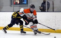 Boys' hockey hits the ice for its first game