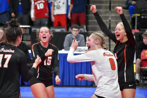 Gallery: Girls' volleyball plays Eagan in State tournament